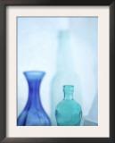 Turquoise Vases I Prints