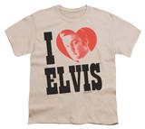 Youth: Elvis - I Heart Elvis T-Shirt