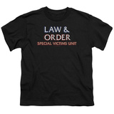 Youth: Law & Order SVU - Logo Shirts
