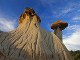 Badlands Formations at Makoshika State Park in Glendive, Montana, USA Photographic Print by Chuck Haney