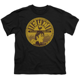 Youth: Sun Records - Elvis Full Sun Label Shirts