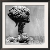 Atomic Energy: an Explosion of the H-Bomb During Testing in the Marshall Islands, 1952 Prints