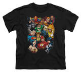 Youth: Justice League America - The League's All Here T-shirts