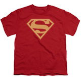 Youth: Superman - Red & Gold Shield T-shirts