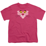 Youth: Pink Panther - Face T-Shirt