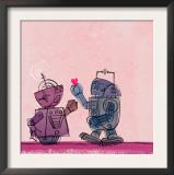 Robot Couple Prints