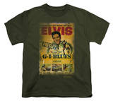Youth: Elvis - Gi Blues Poster Shirt