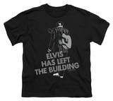 Youth: Elvis - Elvis Has Left The Building T-shirts