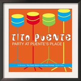 Tito Puente, Party at Puente&#39;s Place Prints