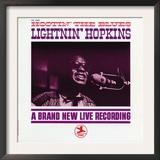 Lightnin' Hopkins - Hootin' the Blues Prints