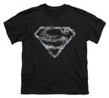 Youth: Superman - Smoking Shield Shirts