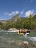 Rafting on Verdon River, Gorges Du Verdon, Provence, France Photographic Print by Sergio Pitamitz