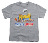 Youth: Garfield - This Is Living T-Shirt