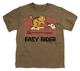 Youth: Garfield - Vintage Easy Rider T-shirts