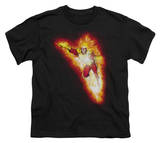Youth: Justice League America - Firestorm Blaze T-shirts