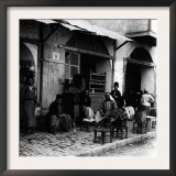 Coffee Shop with Gramophone, Jerusalem, 1910s Art