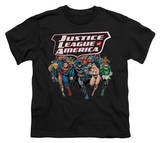 Youth: Justice League America - Charging Justice Shirt