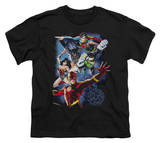 Youth: Justice League America - Galactic Attack Color Shirts