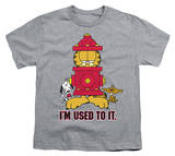 Youth: Garfield - I'm Used To It T-shirts