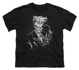 Youth: Batman - Joker'S Splatter Smile T-shirts