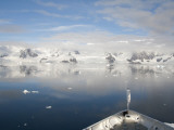 Prince Albert Ii Sailing Into Paradise Harbor, Antarctic Peninsula, Antarctica Photographic Print by Cindy Miller Hopkins
