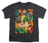 Youth: Justice League America - Hero Boxes Shirts