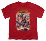 Youth: Justice League America - Lost T-shirts