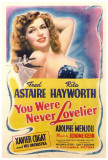 You Were Never Lovelier Posters