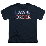 Youth: Law&Order - Logo T-shirts