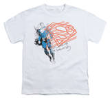 Youth: Superman - Super American Flag T-shirts