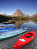 Two Medicine Lake and Sinopah Mountain, Glacier National Park, Montana, USA Photographic Print by Jamie & Judy Wild