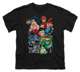 Youth: Justice League America - Break Free Shirts