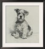 Victorian Terrier Prints