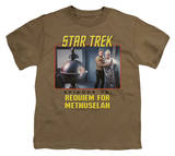 Youth: Star Trek Original - Requiem For Methuselah T-shirts