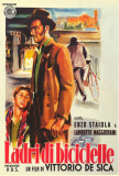 The Bicycle Thief - Italian Style Affiche