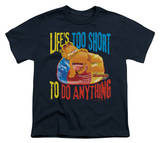 Youth: Garfield - Too Short Shirt