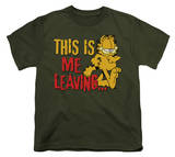 Youth: Garfield - Leaving T-Shirt