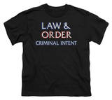 Youth: Law And Order CI - Logo T-shirts