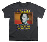 Youth: Star Trek Original - Last Battlefield T-shirts