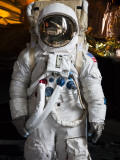 Astronaut Moonwalk Suit at the U.S. Space & Rocket Center, Huntsville, Alabama, USA Photographic Print by Walter Bibikow