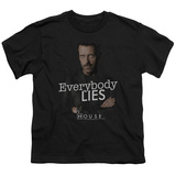 Youth: House - Everybody Lies T-shirts