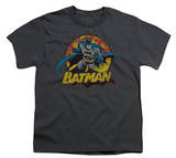 Youth: Justice League America - Batman Rough Distress T-Shirt