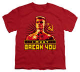 Youth: Rocky - I Must Break You T-shirts