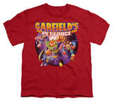 Youth: Garfield - Pet Force Four Shirts