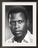 A Patch of Blue, Sidney Poitier, 1965 Print