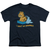 Youth: Garfield - I Don't Do Mornings Shirts