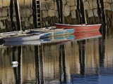 Boat in Harbor, Cape Ann, Rockport, Massachusetts, USA Photographic Print by Adam Jones