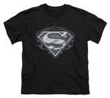 Youth: Superman - Biker Metal T-Shirt