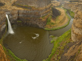 200 Foot High Palouse Falls State Park, Washington, USA Photographic Print by Chuck Haney