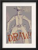 Cowboy Draw Prints